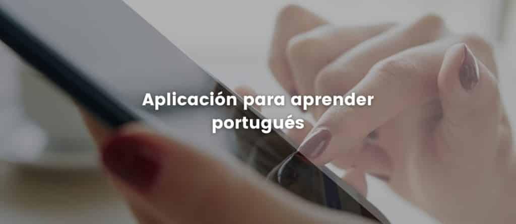 Aplicación para aprender portugués