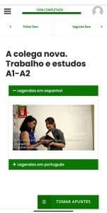 plataforma para aprender portugués