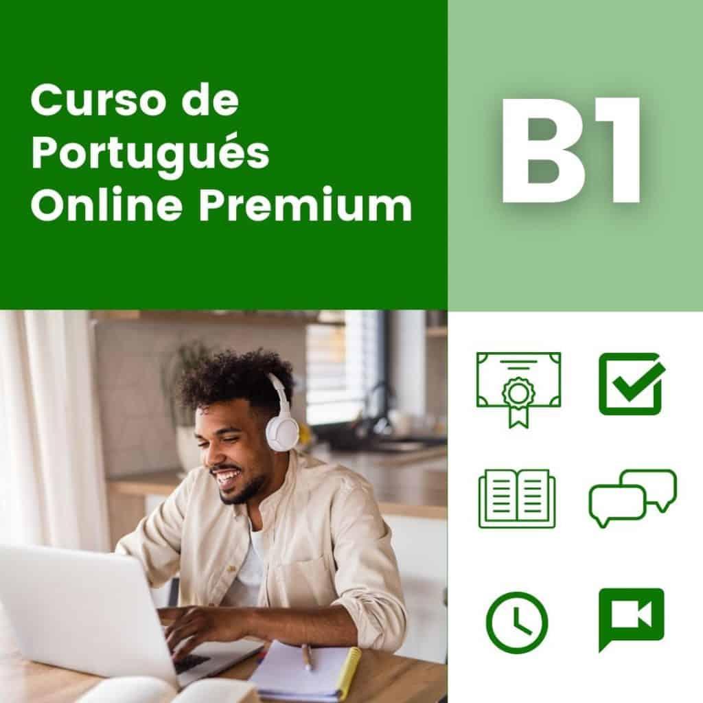 CURSO PORTUGUES ONLINE B1