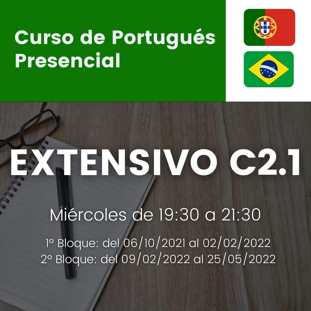 curso de portugues extensivo c2.1